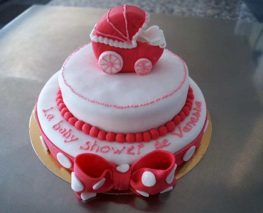 Wedding cake baby shower